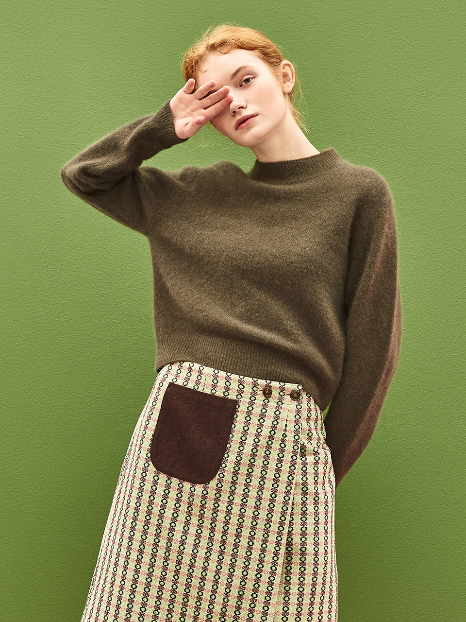 [30%OFF]Soft Raccoon Sweater in Mocha